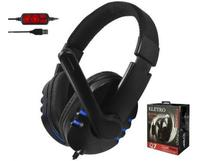Headphone Headset Q7 USB c/ Microfone* - Eletro Voo