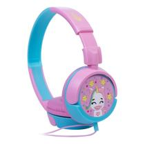 Headphone Infantil Fone De Ouvido Unicórnio Oex Kids Rosa -