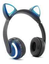 Headphone Orelha Gato Ear Cat Fone Ouvido Led Bluetooth - Dacar