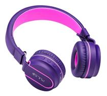 Headphone Pulse Bluetooth Ph217 Rosa/roxo - Multilaser
