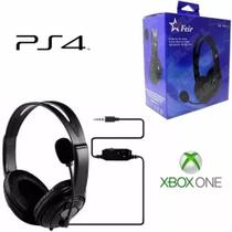 Headset 7.1 Gamer Fone Ouvido Microfone Ps4 Xbox One P2 Novo - Feir