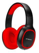 Headset Bluetooth Elg C/ Microfone Entrada Micro Sd Vermelho - Epb-ms1rd -