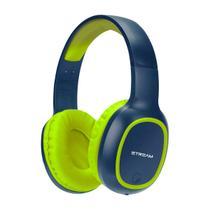 Headset Bluetooth ELG Com Microfone E Entrada Micro SD Azul/Verde -
