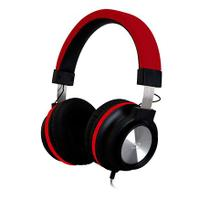 Headset C3 Tech C/ Microfone Vermelho PH-300RD -