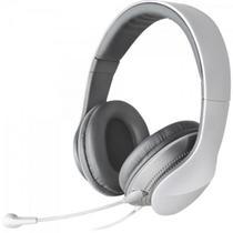 Headset com Alça e Microfone Dobrável e Removível K830 Branco e Prata EDIFIER -