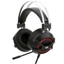 Headset com Microfone Gamer Bio com Fio Redragon Preto - H801 -