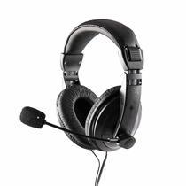 Headset com Microfone Profissional 6011444 Preto - Maxprint -
