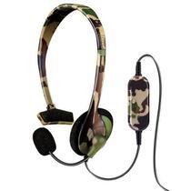 Headset Dreamgear Broadcast Camuflado PS3 -