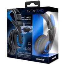Headset Dreamgear Grx-350 Xbox One Ps4 Nintendo Azul
