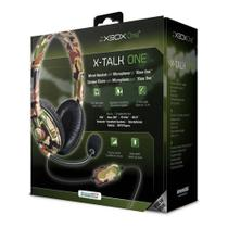 Headset Dreamgear X-Talk Gaming Xbox One Camuflado -