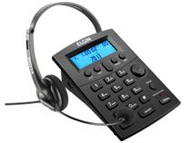 Headset Elgin HST-8000 - com Identificador de Chamada e Saída para Gravação