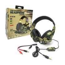 Headset Fone De Ouvido Com Microfone Stereo Com Fio 6 Em 1 P4/XBOX 360/XBOX ONE/NINTENDO SWITCH/PC OIVO IV-X1012 -