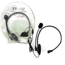 Headset Fone De Ouvido Mono Auricular Com Microfone Com Fio Para Xbox 360 FEIR FR-307 -
