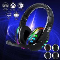 Headset Fone Ouvido Gamer Rgb Usb P3 Ps4 Pc Celular - Gm018