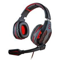 Headset Gamer 5.1 Centauro - Vermelho plug USB - Mymax