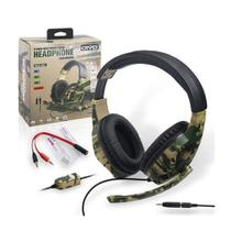 Headset Gamer 5 em 1 Camuflado P2 C/Microfone IV-X1012 - Oivo