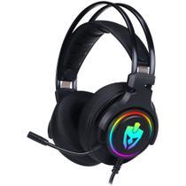 Headset Gamer 7.1 Para Ps4 Pc Usb Agni Pro Led Rgb Evolut -
