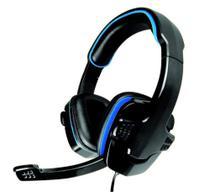 Headset Gamer AR-S501 Preto com azul c/microfone K-MEX -