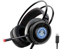 Headset Gamer Ars6 K-mex Com Led Usb 7.1 Digital Surround -