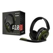 Headset Gamer Astro A10 Ps4/Xbox One Preto/Verde Call Of Duty Pc/Console P2 Estéreo - 939-001840