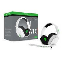 Headset Gamer Astro A10 Xbox One Branco/Verde Pc/Console P2 Estéreo - 939-001854 -