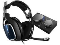 Headset Gamer Astro A40 + Mixamp Pro Tr  - para PS4 PC e MAC USB Preto