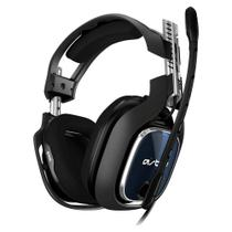 Headset gamer astro a40 tr p-s4 preto/azul - 939-001788 - Logitech