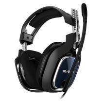 Headset gamer astro a40 tr p-s4 preto/azul - 939-001788 - Logitech -