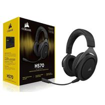 Headset Gamer Corsair HS70 7.1 Wireless Carbono CA-9011179-NA