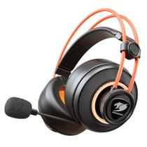 Headset Gamer Cougar 3H700U50T.0001 Immersa PRO Ti RGB Surround Laranja E Preto -