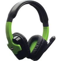 Headset Gamer DAZZ Cerberus 2.0 - XBOX 360 Preto/Verde -