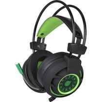Headset Gamer Diamond 7.1 Preto/Verde PC/PS3/PS4 Dazz Usb -