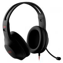 Headset Gamer Edifier G1 SE - Adaptador P3 para P2 - com Controle de Volume - Preto - G1SE-BK -