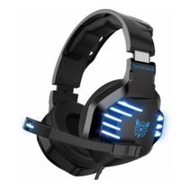 Headset Gamer Estéreo Fones de Ouvido Microfone Redução de ruído Luz Led compatível com PS4 Xbox - ONIKUMA