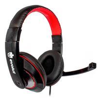 Headset Gamer Evolut Thardus Eg302rd Com Fio Para Pc e Game -