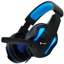 Headset Gamer Evolut Thoth Azul  - EG305BL -