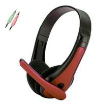 Headset Gamer F-6 Tecdrive  Vermelho -