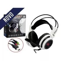 Headset Gamer Fone com Microfone 7.1 Virtual USB P2 Pc Notebook Knup Kp-400 -