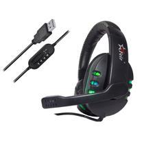 Headset Gamer Fone Com Microfone USB 2.0 P/ Computador, Notebook, Console de Vídeo Game 7.1 Virtual - Feir