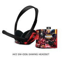Headset Gamer Fone Gm-006 Com Microfone Cabo P2 Pc Jogos Celular -