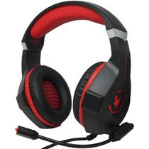 Headset Gamer Fone Ouvido Microfone Scorpion Bass Led Pc Celular Jogos Infokit GH-X1000 XSoldado -