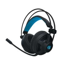 Headset Gamer Fortrek Pro H2 P2/USB Led Azul 32 Ohms Preto