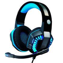 Headset Gamer Headphone Super Bass Led RGB PC Xbox Celular - KP-491-3