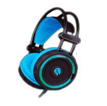 Headset Gamer HF-2201 Hayom 40mm Com Microfone e Led -