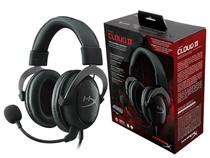 Headset Gamer HYPERX Cloud II PRETO/CINZA P/ PC e PS4 KHX-HSCP-GM