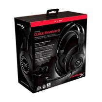 Headset Gamer HyperX Cloud Revolver S 7.1 Dolby Digital - PC, PS4 e PS4 Pro -
