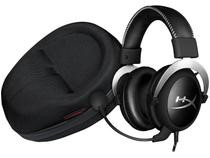 Headset Gamer HyperX Cloud - Silver + Case para Headset HyperX Cloud