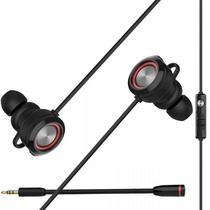 Headset Gamer in Ear EDIFIER GM3SE - Preto/Vermelho -