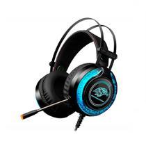 Headset Gamer K-Mex ARS9300 Stereo RGB P2 C/ Microfone - Preto -