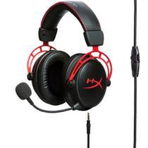 Headset Gamer Kingston HyperX Cloud Alpha Microfone Removível Driver Dual Chamber - HX-HSCA-RD/AM -